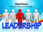 Leadership Concept Business Theme PowerPoint Templates PPT Themes And