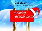 Merry Christmas Celebration Theme PowerPoint Templates PPT Themes And
