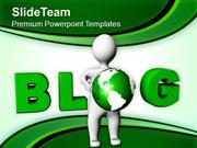 Write And follow Blog PowerPoint Templates PPT Themes And Graphics 041