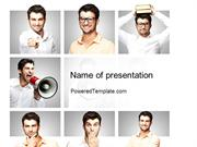 Variety Emotions PowerPoint Template