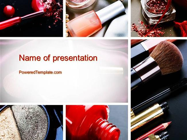Makeup Tools Powerpoint Template Authorstream