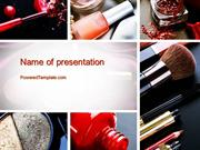 Makeup Tools PowerPoint Template