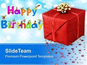 Happy Birthday Gift Background PowerPoint Templates PPT Themes And Gra