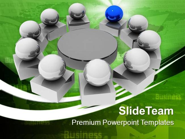 leadership business meeting powerpoint templates ppt themes and gr