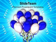 Party Balloons Entertainment PowerPoint Templates PPT Themes And Graph