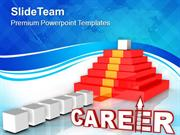Way To Career Future Success PowerPoint Templates PPT Themes And Graph