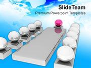 Team Discussion Conference Meeting PowerPoint Templates PPT Themes And
