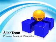 Team Leader Need Support Of Team PowerPoint Templates PPT Themes And G