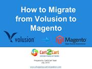 How to Migrate from Volusion to Magento