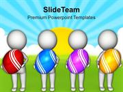 3d Men With Easter Egg PowerPoint Templates PPT Themes And Graphics 03