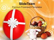 Celebrate This Easter With Gifts PowerPoint Templates PPT Themes And G
