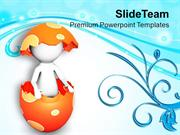 Make Your Friends Surprised With Easter PowerPoint Templates PPT Theme