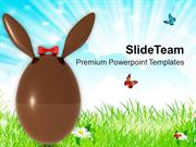 Suprise Your Friends With Easter Bunny PowerPoint Templates PPT Themes