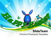 Wish Your Friends Happy Easter PowerPoint Templates PPT Themes And Gra