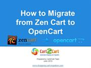 How to Migrate From Zen Cart to OpenCart