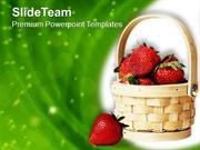 Healthy Fruits For Good Nutrition PowerPoint Templates PPT Themes And