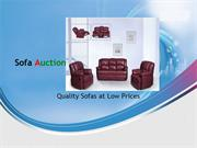 Cheap Sofas at Sofa Auction