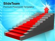 Stairs Showing Path To Success PowerPoint Templates PPT Themes And Gra