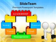 Men Doing Business Deal Lego Blocks PowerPoint Templates PPT Themes An
