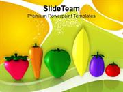 Vegetables Good For Health Nutrition PowerPoint Templates PPT Themes A