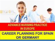 Advance Nursing  -Career Planning