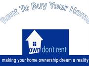 rent to buy your home