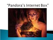 Jeff's Pandora's Box  lesson