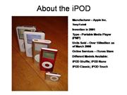 feasibility of ipod