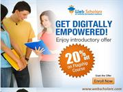 Join Digital Marketing Courses with Webscholarz