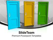 Choose Right Opportunity For Success PowerPoint Templates PPT Themes A