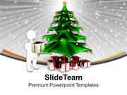 Christmas Theme With Celebration PowerPoint Templates PPT Themes And G