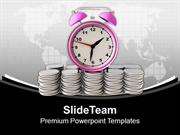 Money Depends On Time Management Business PowerPoint Templates PPT The