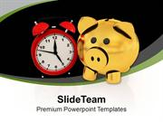 Money Increases With Time Saving PowerPoint Templates PPT Themes And G
