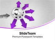 Multi Dimensional Flow Of Process PowerPoint Templates PPT Themes And