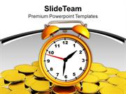 Time Is Money Financial Theme PowerPoint Templates PPT Themes And Grap