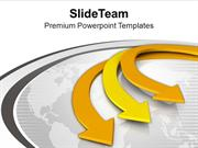 Unidirectional Arrows Business Theme PowerPoint Templates PPT Themes A