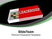 Become A Leader With Quality Skills PowerPoint Templates PPT Themes An