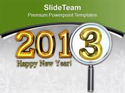 Happy New Year Theme 2013 PowerPoint Templates PPT Themes And Graphics