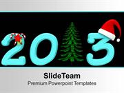 Wishes For New Year And Christmas PowerPoint Templates PPT Themes And