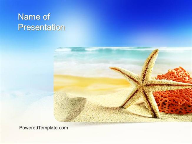 Summer Theme Powerpoint Template authorSTREAM – Summer Powerpoint Template