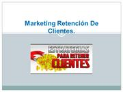 Marketing Retención De Clientes diapo
