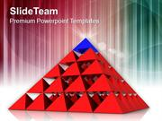 Business Strategy Pyramid PowerPoint Templates PPT Themes And Graphics