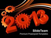 Coming New Year Teamwork Concept PowerPoint Templates PPT Themes And G