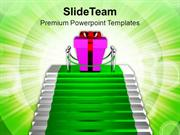Exclusive Gift Celebration PowerPoint Templates PPT Themes And Graphic