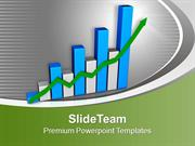 Business Growth By Bar Graph PowerPoint Templates PPT Themes And Graph