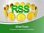 Finance Theme With Gold Coin PowerPoint Templates PPT Themes And Graph