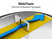Raise Bar Of Ability PowerPoint Templates PPT Themes And Graphics 0413