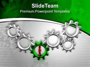 Show The Team Work In Business PowerPoint Templates PPT Themes And Gra