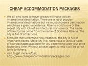 cheap accommodation packages