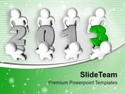 Achieve All Target As A Team For Businees PowerPoint Templates PPT The